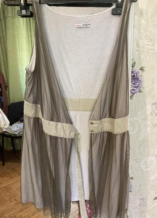 Легкое платье на запах