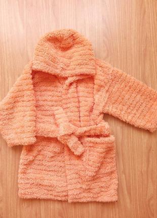 Мягусенький халат (3-4 года)