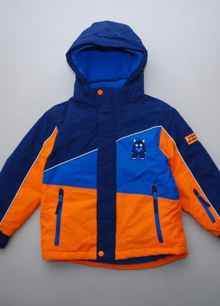 Куртка зимняя термо для мальчика с логотипом yeti kiki&koko 122