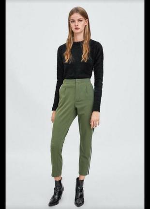Демисезонные брюки zara