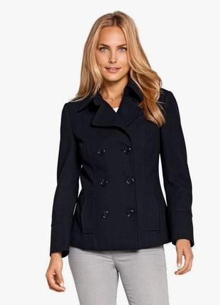 Шерстяное короткое пальто-жакет tcm tchibo