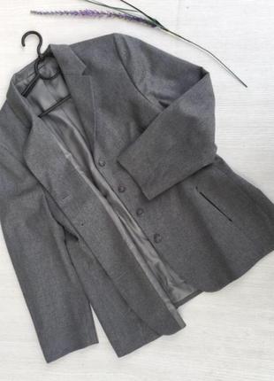 Актуальный шерстяной пиджак next