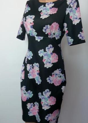 Платье миди 48 размер офисное бюстье нарядное с рукавом осеннее новое футляр