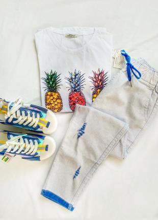 Sale!!! брюки стрейч-коттон женские укороченные