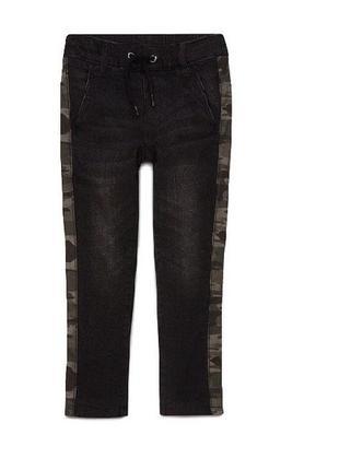 Термо джинсы на подкладке c&a германия р.122,128,134,140