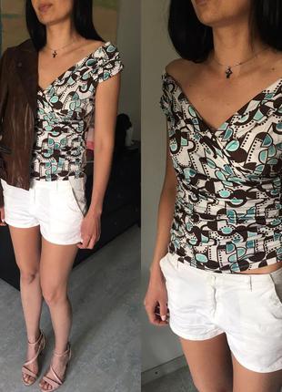 Женственная блуза