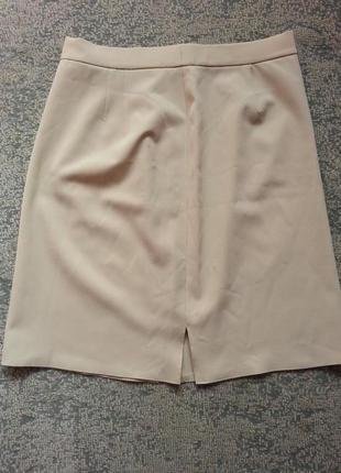 Бежевая женская юбка