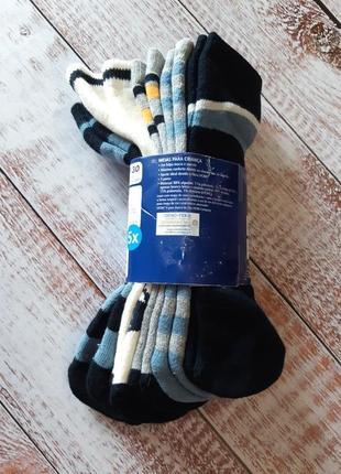 Теплые махровые носки 27-30, 4-6 лет, 5 пар комплект, lupilu, германия