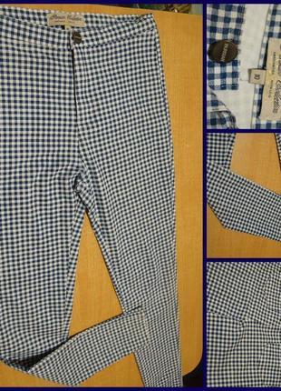 Parisian  зауженные брюки с завышенной талией m штани лосини штаны лосины