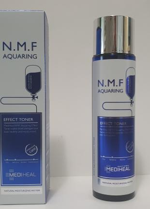 Тонер с натуральным увлажняющим фактором mediheal n.m.f aquaring effect toner