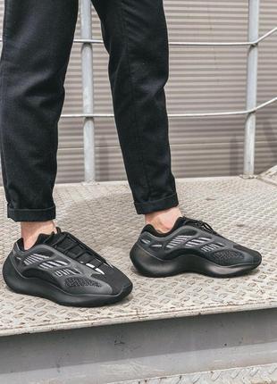 Мужские кроссовки ✨yeezy boost 700 v3 black / изи буст 700 в3✨