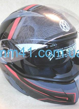 Шлем vland модуляр, размер xs m3 фото