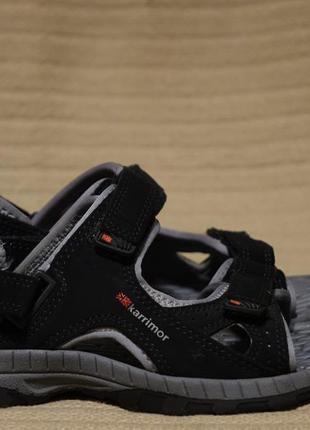 Фирменные черные сандалии - трансформеры karrimor antibes англия 33  р