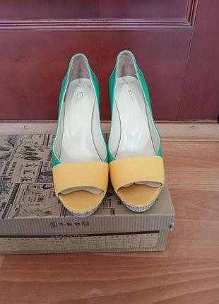 Туфли летние с открытым носком