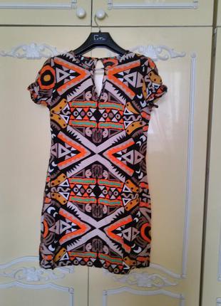 Стильное платье этно принт этно стиль