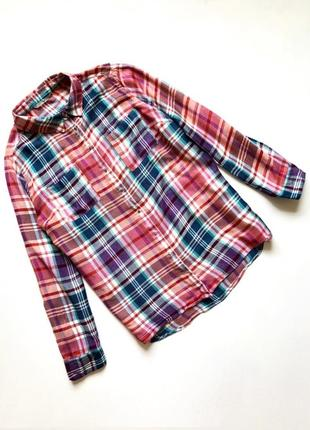 Качественная рубашка в клетку