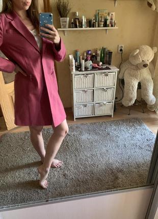 Пальто marks&spencer шерсть (можно как оверсайз пиджак!)