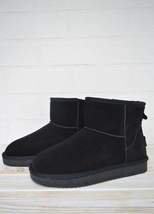 5041  it ts угги черные короткие уги кроссовки сапоги ботинки