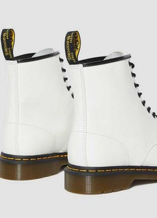 Черевики dr. martens 1460 білі smooth leather original