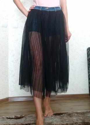 Оригінальні шорти юбка 2в1