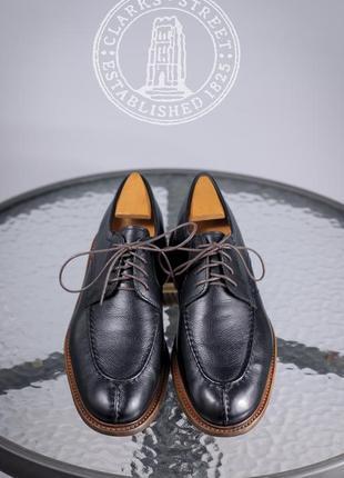 Кожаные дерби clarks, индия 41р мужские туфли