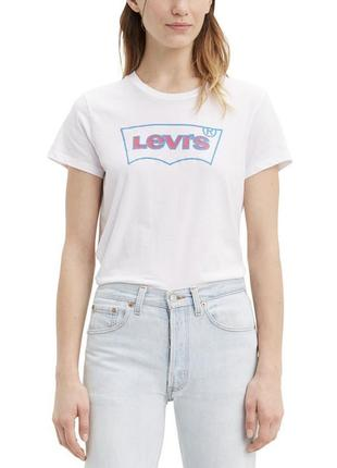 Левис левайс levi's белая футболка оригинал новая коллекция