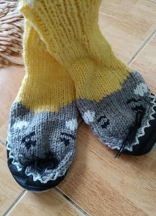 Носочки тапки