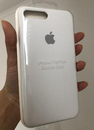 Чехол на айфон 7+/8+ silicon case
