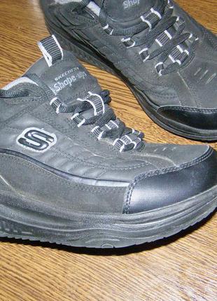 Рр 41,5 - 26,5 см кроссовки для фитнеса и похудения skechers shape ups