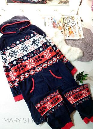 Флисовой слип человечек пижама