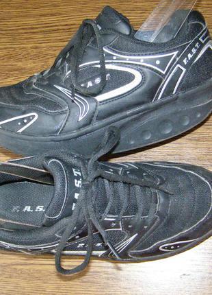 Рр 38-25,1 см кроссовки для фитнеса, похудения и ровной осанки от fast