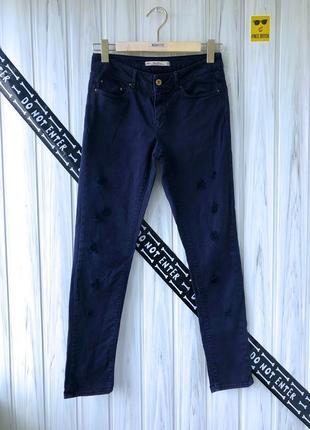 Скинни джинсы от zara