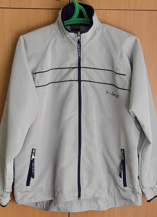 Фирменная куртка-ветровка nike/usa/color-river mother of pearl.