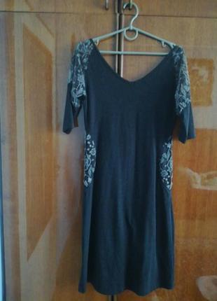 Плаття трикотажне тепле