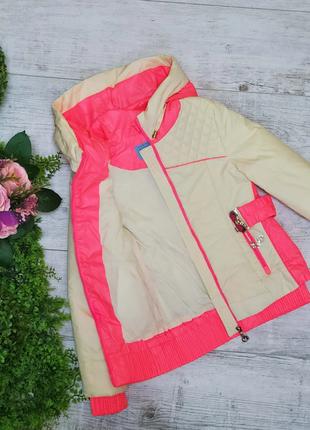 Р. 122-146 стильная, удобная, качественная курточка