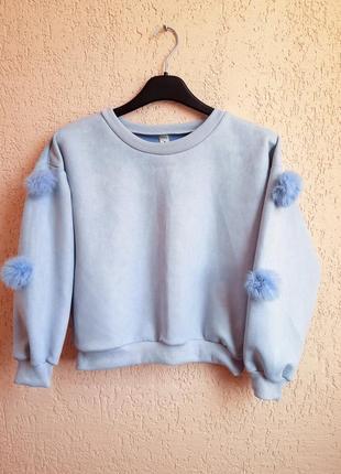 Свитер кроп, короткий свитер