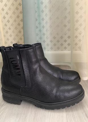 Женские ботинки tommy hilfiger