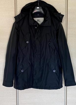 Куртка демисезонная мужская оригинал burberry размер m/l