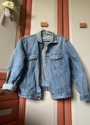 Джинсовка джинсовая куртка курточка пиджак оверсайз