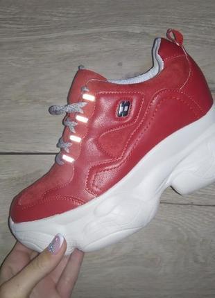 Сникерсы спортивные ботинки  🍁 полуботинки осенние  деми платформа