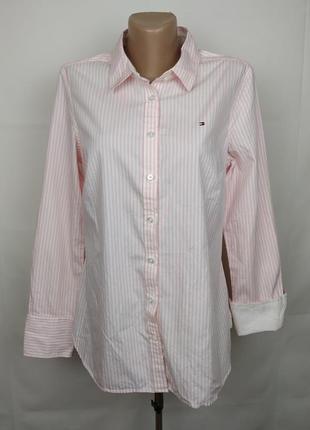 Блуза рубашка оригинальная стильная tommy hilfiger m