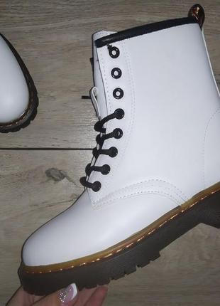 Женские ботинки 🍁 тракторная подошва осенние деми