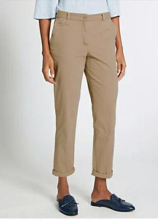 Стильні брюки чіноси chinos бренда marks & spencer,р.12
