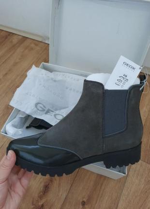 Sale кожаные ботинки челси
