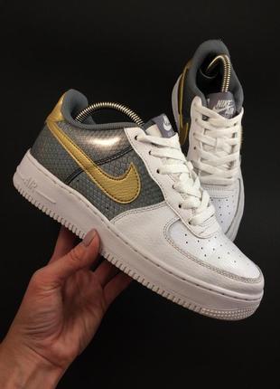 Nike air force 1 кожаные кроссовки оригинал