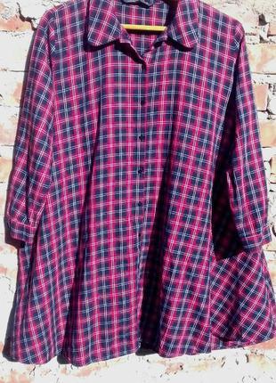 Трендовое платье рубашка платье-рубашка оверсайз широкое можно для беременных zara