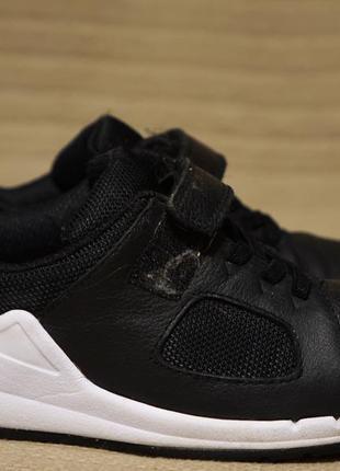 Легкие комбинированные черные кроссовки clarks sprint англия 29 р.