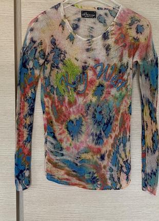 Кашемировый пуловер премиум бренд princess goes hollywood размер s