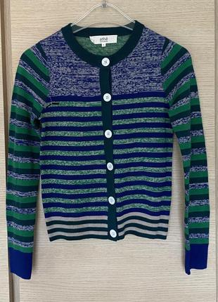 Изумительный пуловер шерстяной премиум бренд vanessa bruno размер xs/s