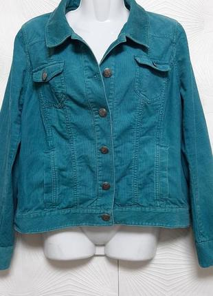 🦋 суперовый пиджак из микровельвета красивого лазурного цвета